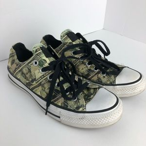 Converse All Star Money Print unisex Men 5 Women 7